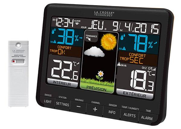 Картинка для Метеостанция La Crosse WS6825 с цветным экраном