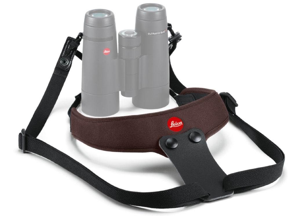 Картинка для Ремень Leica Sport для биноклей, неопреновый, коричневый