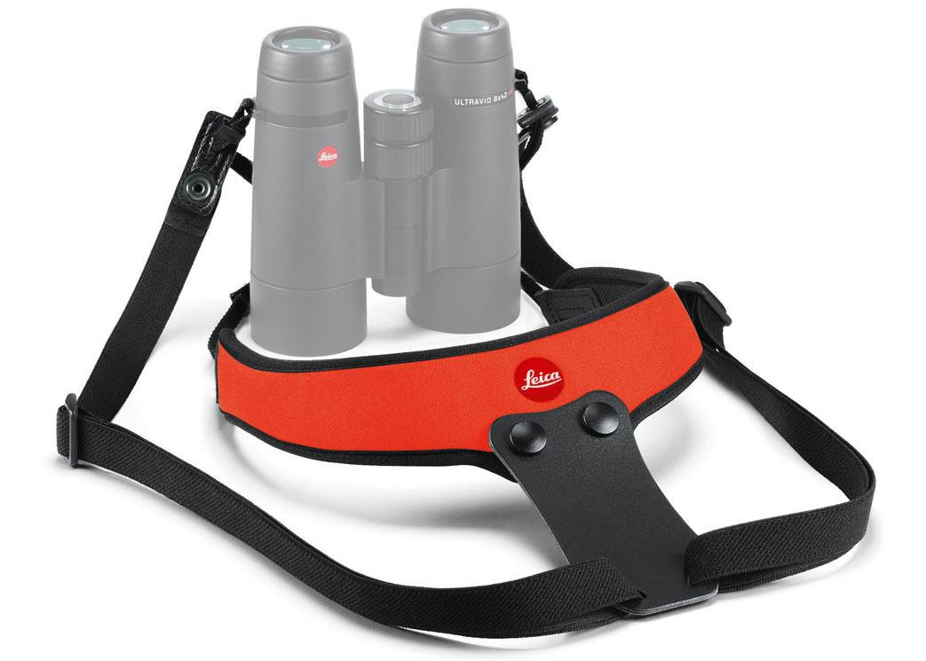 Картинка для Ремень Leica Sport для биноклей, неопреновый, оранжевый