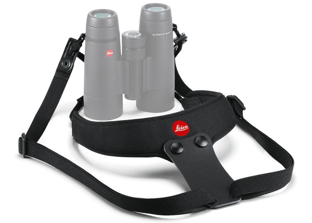 Картинка для Ремень Leica Sport для биноклей, неопреновый, черный