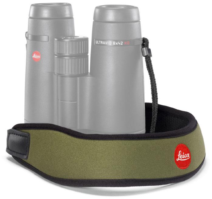 Картинка для Ремень Leica для биноклей, неопреновый, оливковый