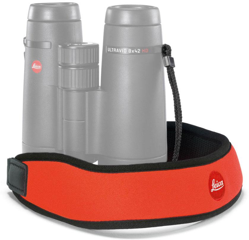 Картинка для Ремень Leica для биноклей, неопреновый, оранжевый