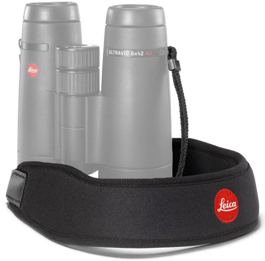 Картинка для Ремень Leica для биноклей, неопреновый, черный