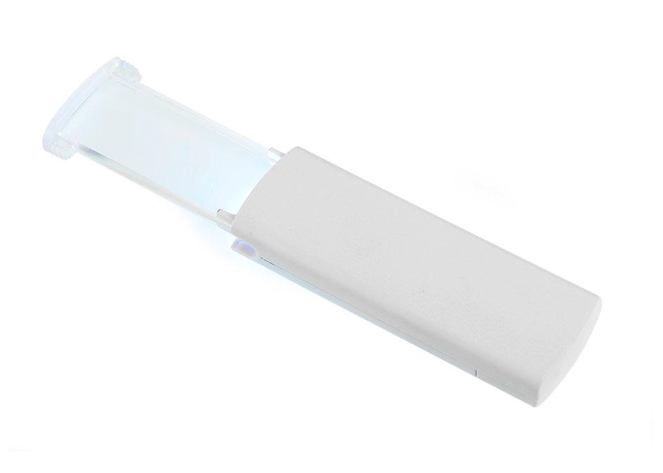 Картинка для Лупа выдвижная Veber 2х, 58х23 мм, с подсветкой (95822)