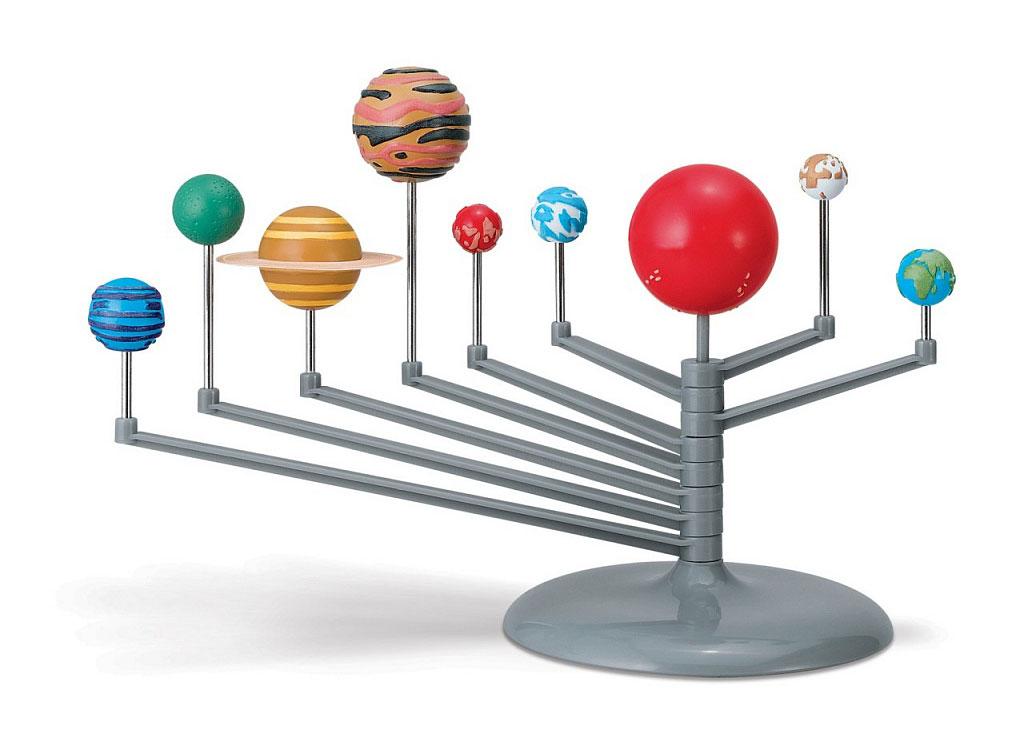 Картинка для Набор 4M 00-03257 «Солнечная система. Настольный планетарий»
