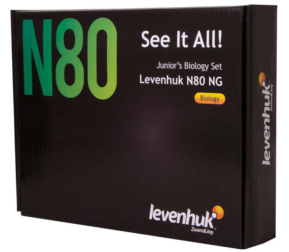 Картинка для Набор микропрепаратов Levenhuk (Левенгук) N80 NG «Увидеть все!»