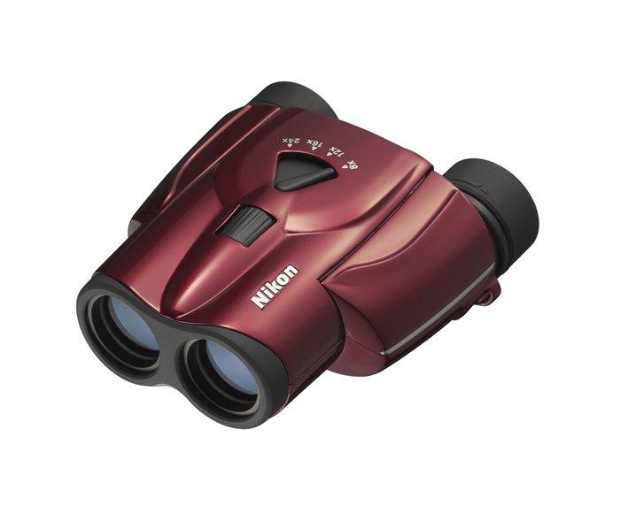 Картинка для Бинокль Nikon Aculon T11 8–24x25 Zoom, красный