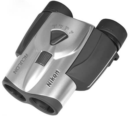 Бинокль Nikon Aculon T11 8-24x25 Zoom, серебро  8690.000