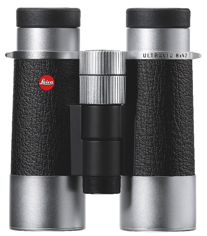 Картинка для Бинокль Leica SilverLine 8x42, кожа, серебристый корпус