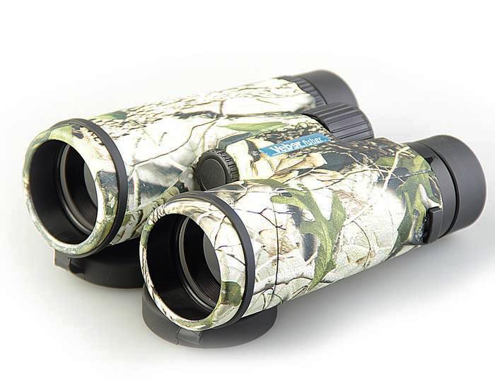 Бинокль Veber Fisher 8x42 с заплечным ремнем (камуфляж, черный)  3200.000