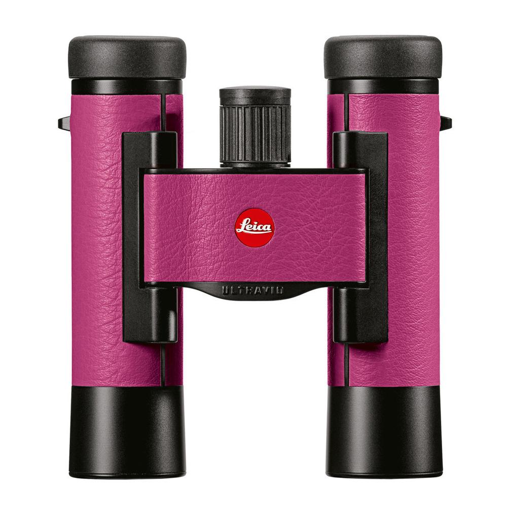 Картинка для Бинокль Leica Ultravid Colorline 10x25 Cherry Pink