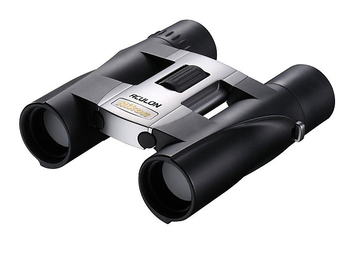 Картинка для Бинокль Nikon Aculon А30 10x25, серебристый