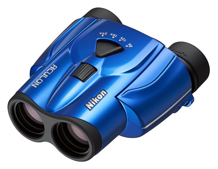 Картинка для Бинокль Nikon Aculon T11 8–24x25 Zoom, синий