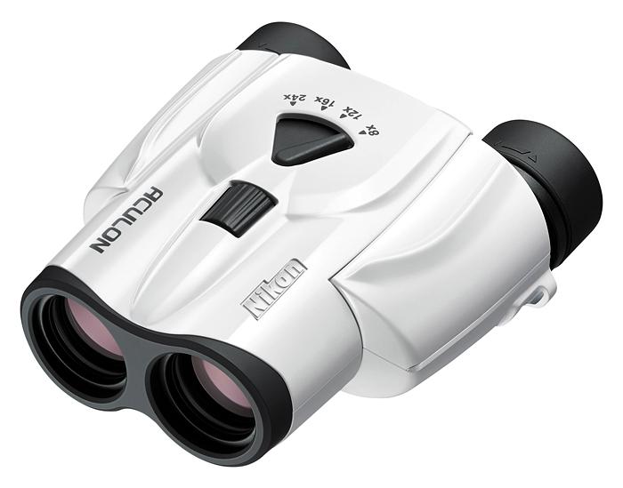 Картинка для Бинокль Nikon Aculon T11 8–24x25 Zoom, белый