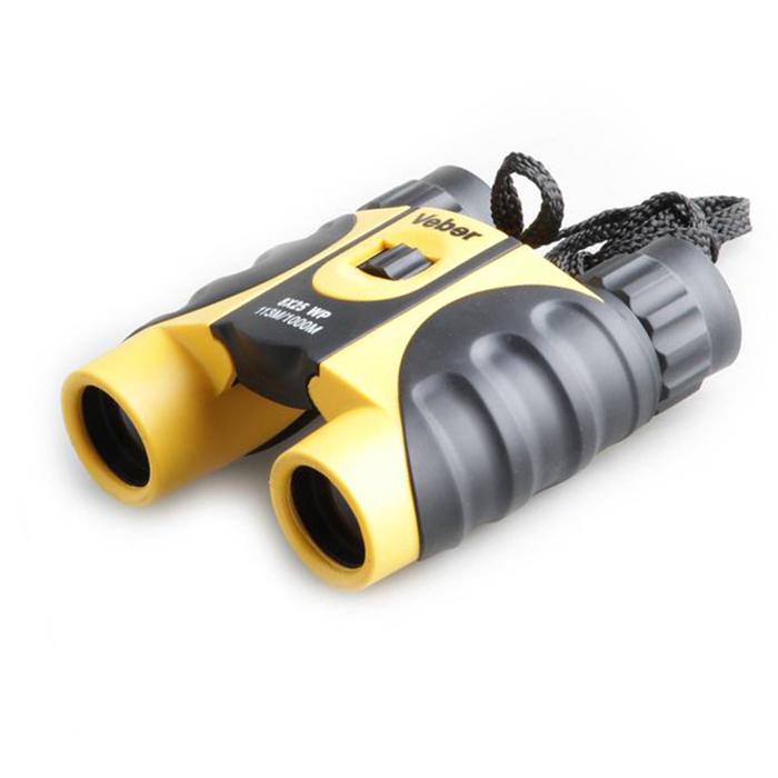 Картинка для Бинокль Veber 8x25 WP, желто-черный