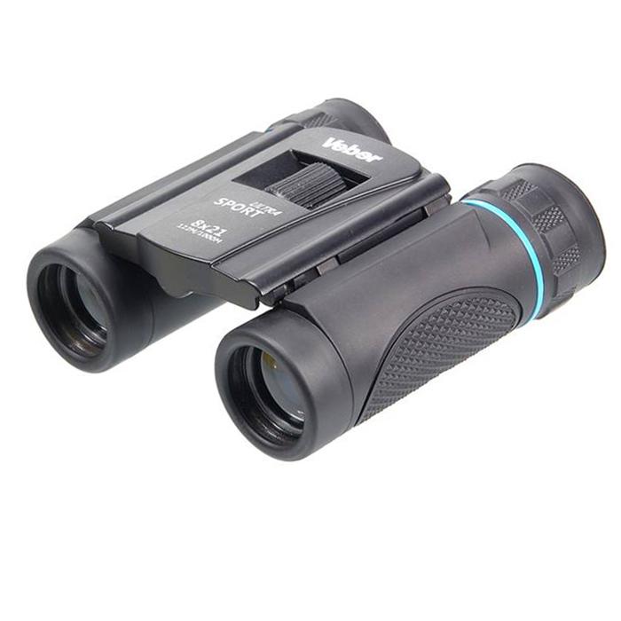 Бинокль Veber Ultra Sport БН 8x21, черный