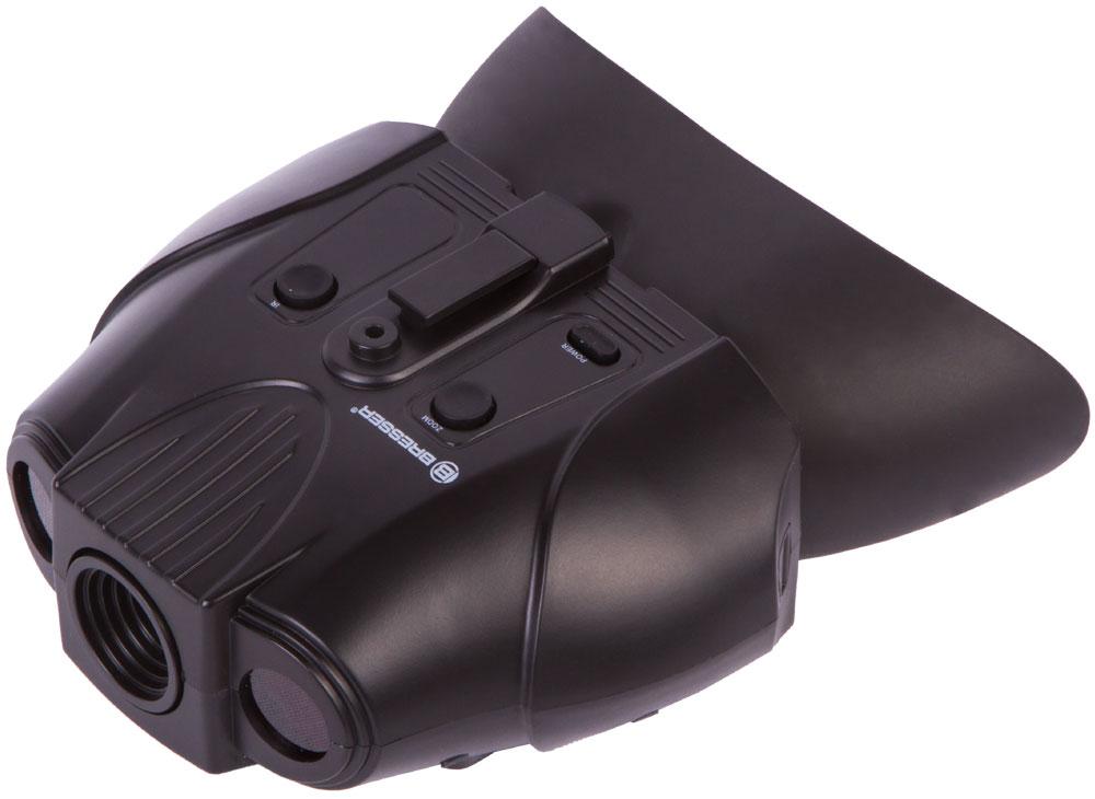 Картинка для Бинокль ночного видения цифровой Bresser (Брессер) 1–2x, с креплением на голову