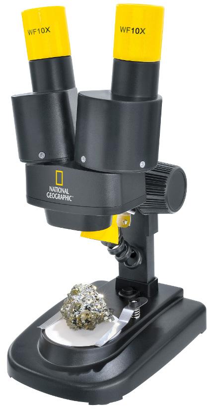 Картинка для Микроскоп стереоскопический Bresser (Брессер) National Geographic 20x
