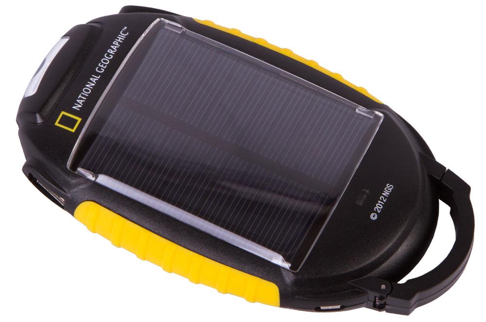 Картинка для Зарядное устройство Bresser (Брессер) National Geographic 4-в-1 на солнечных батареях
