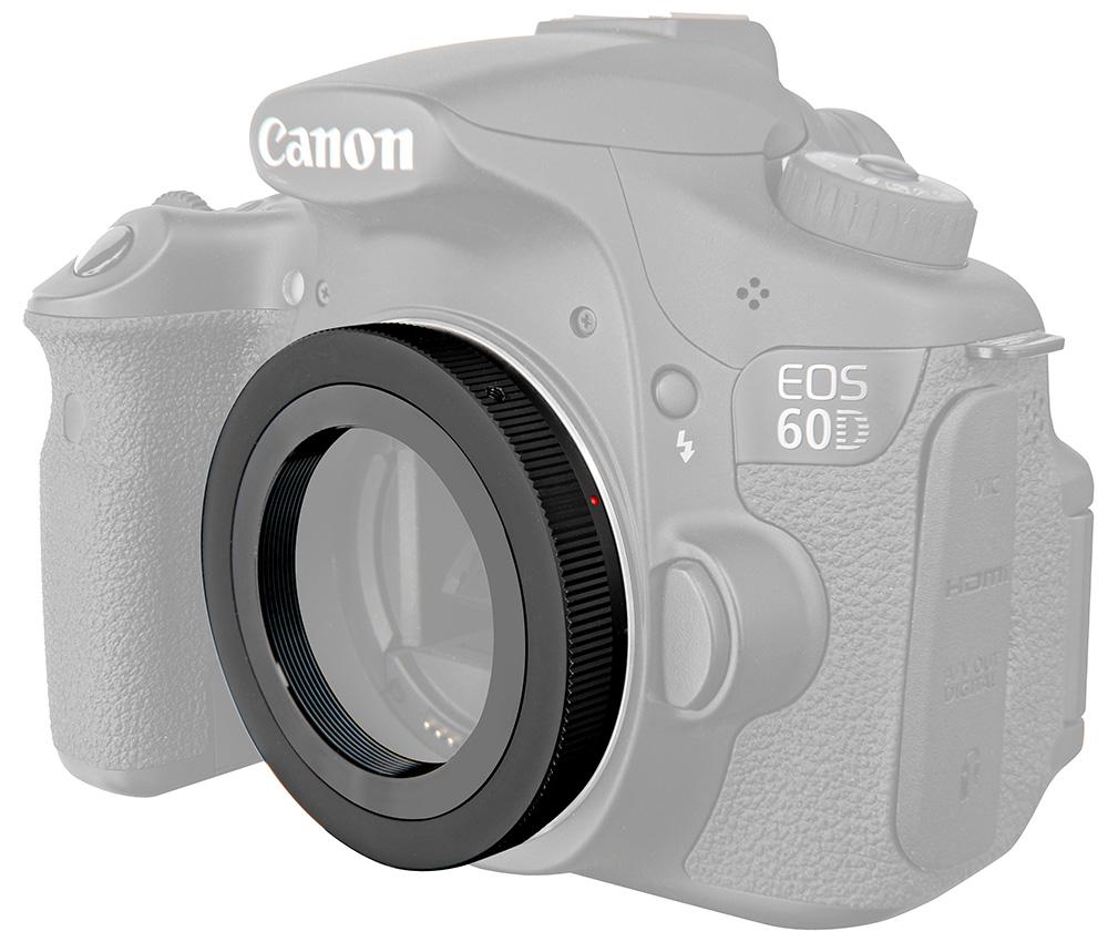 Картинка для Т-кольцо Bresser (Брессер) для камер Canon EOS M42