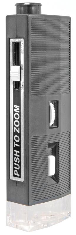 Микроскоп портативный Bresser (Брессер) 60x-100x с подсветкой  890.000
