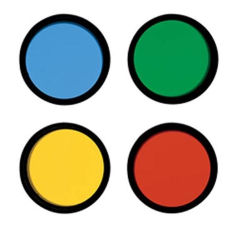 Набор цветных фильтров Meade №1 (12, 23A, 58, 80A)  2830.000