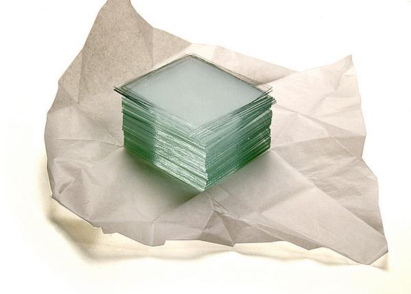 Картинка для Стекла покровные 18x18 мм, 100 шт.