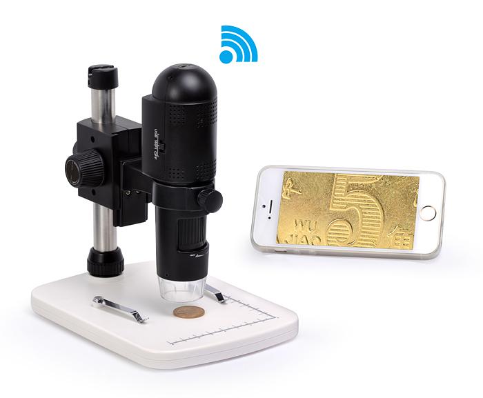 Самая долгожданная новинка этого лета – цифровой микроскоп Levenhuk DTX 720 WiFi!