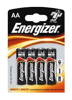 Картинка для Элемент питания Energizer AA LR6 (4 шт.)