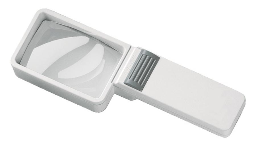 Картинка для Лупа на ручке асферическая Eschenbach Mobilux Economy 3,5x, 75x50 мм, с подсветкой