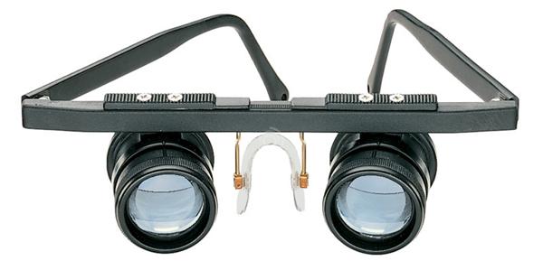 Картинка для Лупа-очки бинокулярная ахроматическая Eschenbach RidoMed 2,5x, 23 мм