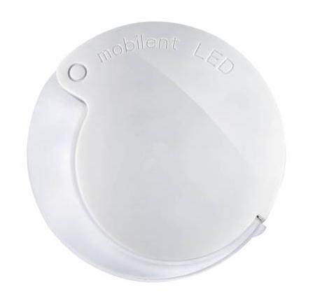 Картинка для Лупа складная асферическая Eschenbach Mobilent LED 10x, 35 мм, с подсветкой