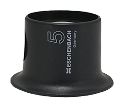 Картинка для Лупа техническая часовая плосковыпуклая Eschenbach Watchmakers 5x, 25 мм