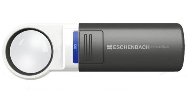 Картинка для Лупа на ручке асферическая Eschenbach Mobilux LED 7x, 35 мм, с подсветкой