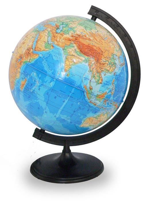 Глобус физический диаметром 320 мм  1290.000