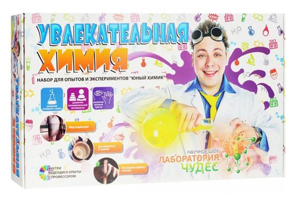 Картинка для Набор для опытов «Инновации для детей» 822 «Увлекательная химия»
