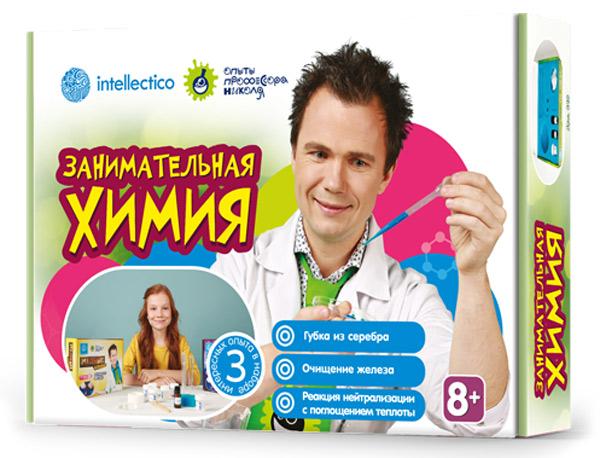 Картинка для Набор для опытов Intellectico 849 «Занимательная химия»