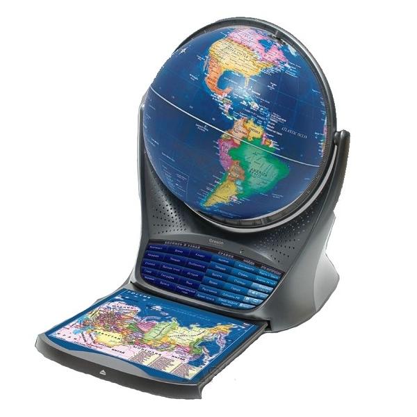 Интерактивный глобус с голосовой поддержкой Oregon Scientific  8500.000