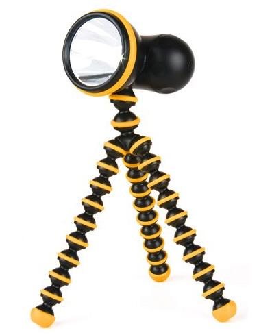 Картинка для Фонарь светодионый Joby GorillaTorch, черный/оранжевый, в блистере