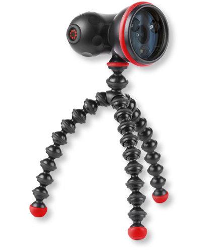 Картинка для Фонарь светодионый Joby GorillaTorch Flare, черный/красный, в блистере
