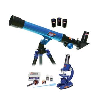 Картинка для Набор Eastcolight: телескоп 30/400 и микроскоп 100–450x, в подарочном кейсе