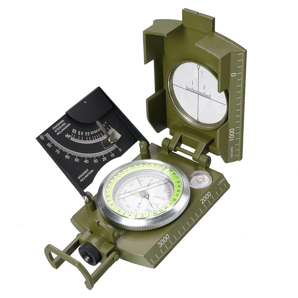 Картинка для Компас армейский с клинометром DC60-1A, жидкостный