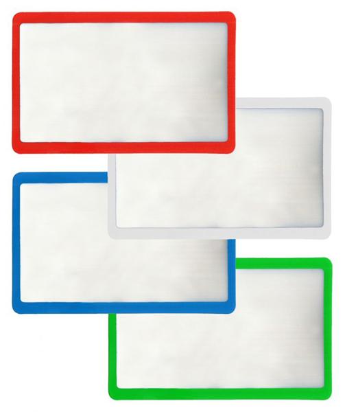 Картинка для Линза Френеля Kromatech 3х, 85х54 мм, гибкая, в рамке