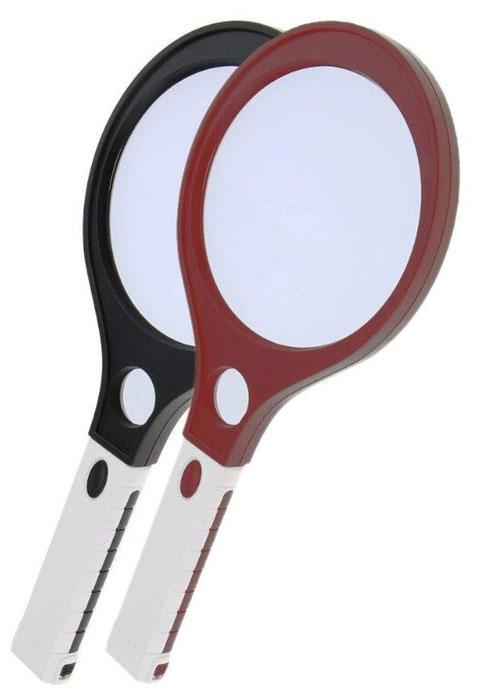Картинка для Лупа Kromatech ручная круглая 3/10х, 138/30 мм, с подсветкой (4 LED) MG80138A