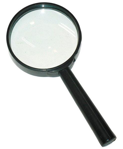 Картинка для Лупа Kromatech ручная круглая 8х, 65 мм, черная (ZB-1006-65)