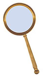 Картинка для Лупа Kromatech ручная круглая 5х, 75 мм, в металлической оправе (YT80763)