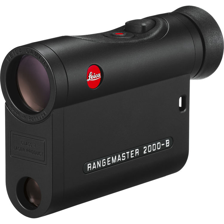Картинка для Дальномер лазерный Leica Rangemaster CRF 2000-B, черный
