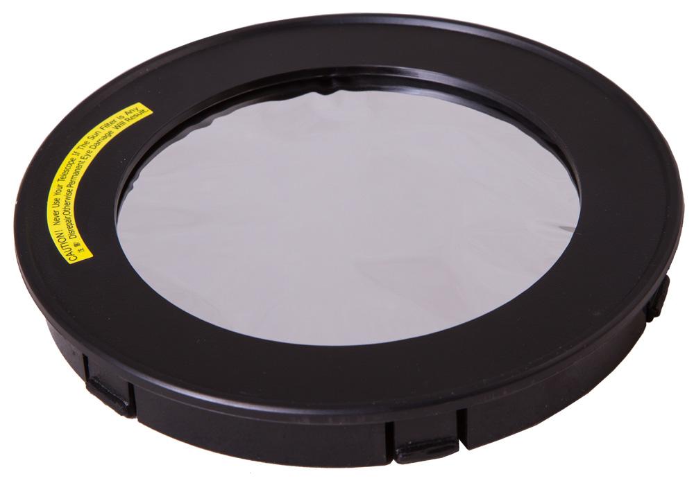 Картинка для Солнечный фильтр Levenhuk (Левенгук) для рефрактора 120