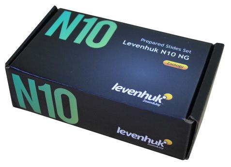 Картинка для Набор готовых микропрепаратов Levenhuk (Левенгук) N10 NG