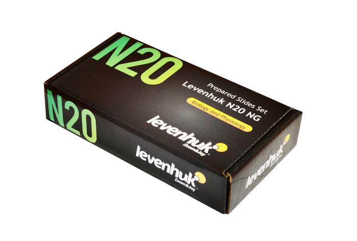 Набор готовых микропрепаратов Levenhuk (Левенгук) N20 NG  990.000